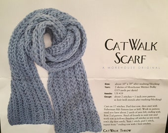 Reduced Price******Morehouse Farm kit for Cat Walk Scarf