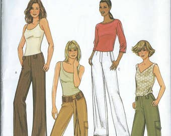 Vintage Sewing Pattern - Butterick #4077, Size 6,8,10