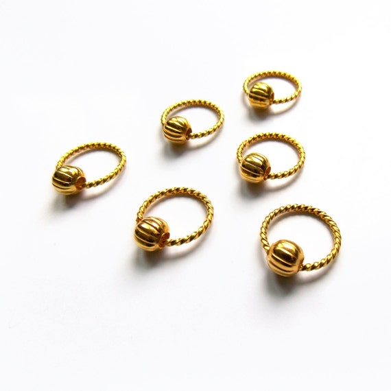 Hair rings hair jewellery body jewellery braid jewelry for Types of body jewelry rings