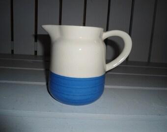Stoneware, Vintage Pitcher, Water Pitcher, Pottery, Ceramic Pitcher, Vintage Pitcher, Vintage Pottery, Vintage Stoneware, Handmade Pottery