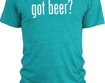 Big Texas Got Beer (White) Vintage Tri-Blend T-Shirt