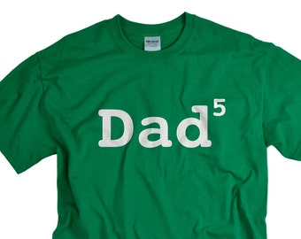 Father's day Gifts for Men Dad 5 children father of five children funny t-shirt Dad 5 shirt tee gift for papa father dad tshirt