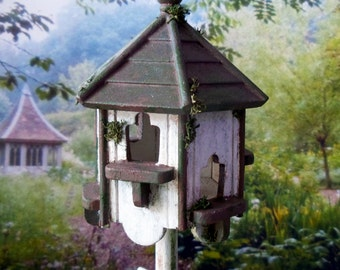 Home for birds colombier Dollhouse scale 1:12