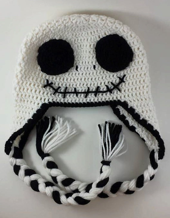 Crochet Pattern For Jack Skellington Hat : Jack Skellington Hat Crochet Hat Jack Skellington Nighmare