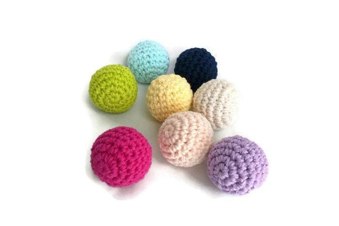 Close Amigurumi Ball : Small Stuffed Balls Crochet Balls Amigurumi Balls Plush