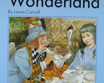 Alice in Wonderland by Lewis Carroll in the Original Story - Illustrated by Eric Kincaid - Children's Picture Storybook