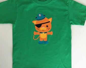 Octonauts Kwazii Shirt - Toddler, Youth & Adult Sizes