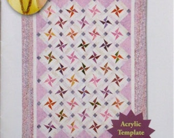 Swirling Stars Quilt- Eleanor Burns, Quilt in a Day