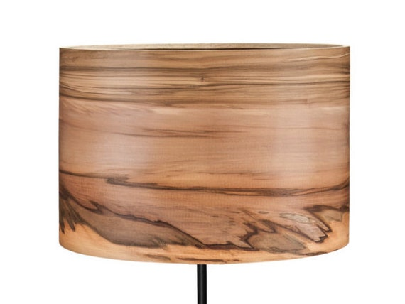 Wooden Floor Lamp Natural Wood Lamps Modern Veneer By