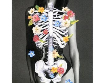 Lovely Bones (A4 Print)