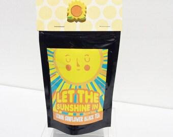 Loose Tea Black Tea, Lemon Black Tea, Let The Sunshine In Tea, All Natural Tea, Tea Samplers