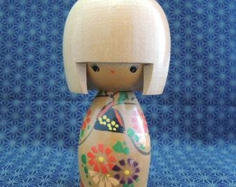 Vintage kokeshi doll, ref7