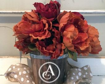 CUSTOM* Let Love Grow Flower Pot