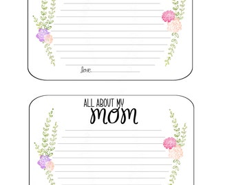All About My Mom Card