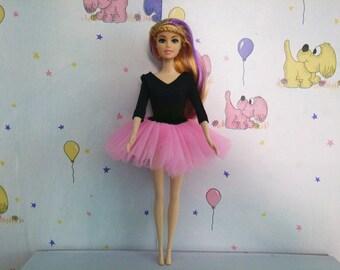 Barbie Ballet Clothes, Modest Barbie Tutu, BALLET SLIPPERS, Modest Barbie Dress, Barbie Ballerina, Modest Barbie Doll, Barbie Fashion Gown