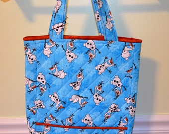 Take Olaf To Grandmas Tote Bag