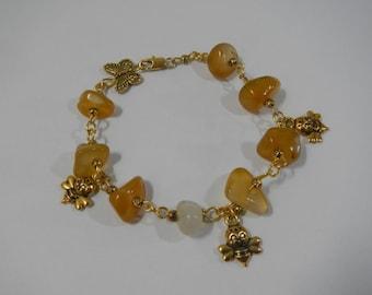 Honey Bracelet Amber Single Copy Bijou