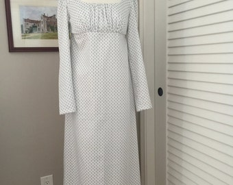 Jane Austen Regency Gown by Iblamejanetoo - Size 4-6