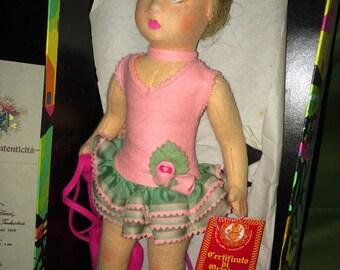 LENCI Moira Blonde Ballerina Doll, NIB