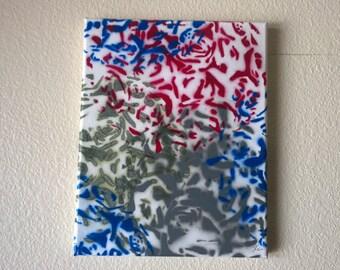 floral stencil spray paint