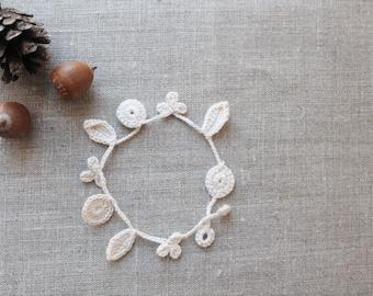 Lovely Crochet Bracelet