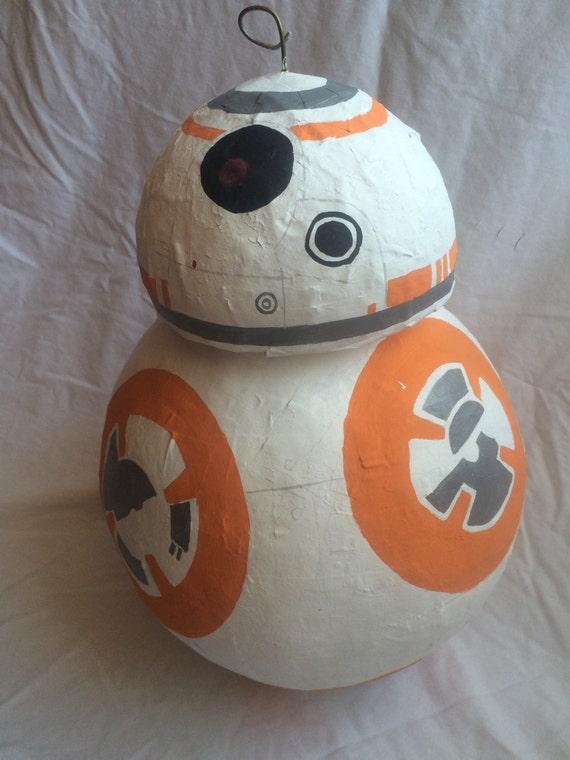 Star Wars Bb8 Droid >> Star Wars Pinata BB8 Star Wars Party Supplies by MegansPinatas
