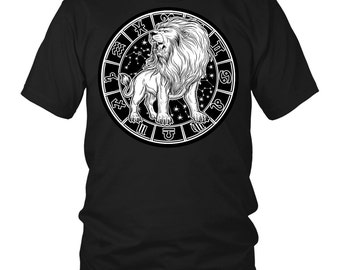 LEO Zodiac Sign T-Shirt