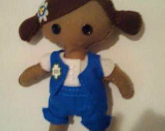 Girl Scout Felt Doll
