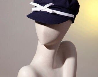 Sailor navy Cap