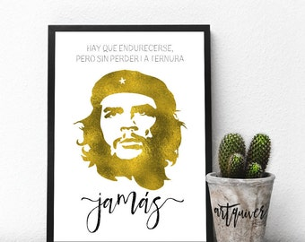 Famous Spanish Quotes Endearing Inspirational Posters Che Guevara Quotes Che Guevara Poster