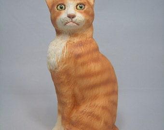 Please feed(sitting cat figurine)