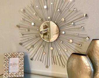 """30"""" Glamorous Sunburst Mirror"""