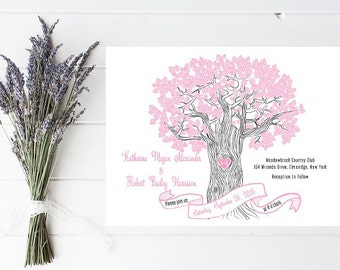 Rustic Wedding Invitation - Outdoor, Tree Wedding Invitation