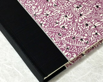 Wedding Photo Album Plum Flowers-Scrapbook Album,Art Journal,Guest Book,Wedding Book,Book of Wishes