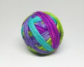 Dyed to order Hand Dyed - Self Striping Yarn - Lisa Frank