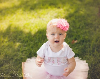 SEWN Tutu, 1st Birthday Outfit Tutu, Newborn Tutu, Cake Smash Outfit Girl Tutu, First Birthday Outfit Girl Tutu, 1st Birthday Tutu Skirt