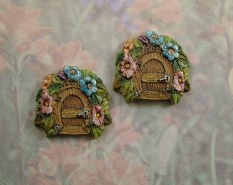 Fairy Door Button set of 2