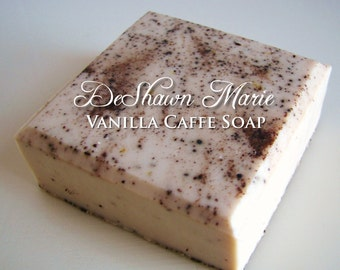 SALE SOAP- Vanilla Caffe Vegan Handmade Soap