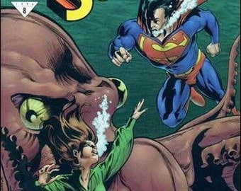 Issue 532 Adventures of SUPERMAN Comic Book from DC Comics