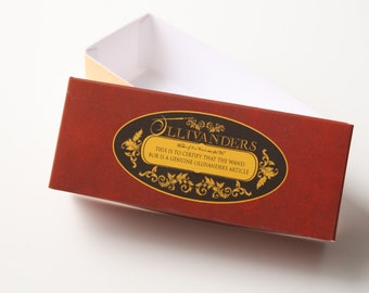 MEDIUM Harry Potter Ollivanders boxes Printable PDF DIY -  Harry Potter wand box Party favor wedding favor Harry Potter themed decoration