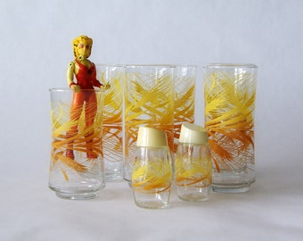 libbey autumn wheat glasses and shakers - 1211117