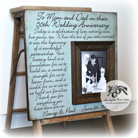 Golden Wedding Gift Ideas For Parents: Parents 50th Anniversary Gifts Golden Anniversary