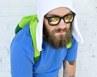 Adventure Time Finn Hat Cosplay Hat ONLY