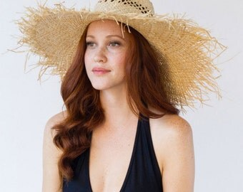 Straw, Floppy Hat, Summer, Beach, Sun Hat, Festival Style, Ashby Hat