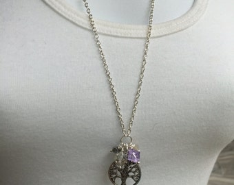Tree of Life Long Pendant