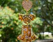 GOLDEN GIRL Tree Jewelry Christmas Ornament Girl Daughter