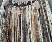 Large dreamcatcher,Hand Crocheted dreamcatcher, Wall Decor, Wall Hanging, Home decor, Wall Art