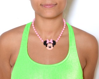 Vintage 80's Minnie Mouse Chocker