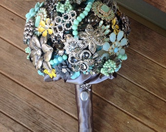 Brooch Bouquet | Custom Made to Order Bouquet | Bridal Bouquet | Large Brooch Bouquet