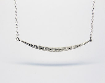 Pendant Bar, Pendant Bar Necklace in sterling Silver, 925 pendant bar, Thin Bar Necklace